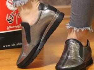 کفش چرم زنانه کد ۲۳۰۹۵۵۵