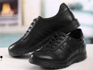 کفش چرمی با کفی طبی