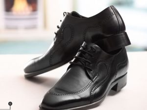 کفش چرمی مدل آرسام