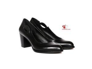 کفش زنانه با پاشنه کوتاه مدل ساره – کد ۱۰۲۱