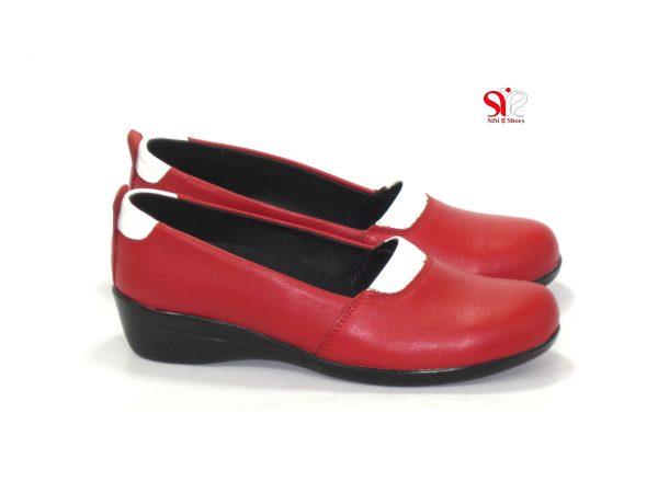 کفش زنانه لژدار مدل آدریانا رنگ قرمز - کفش زنانه سی سی