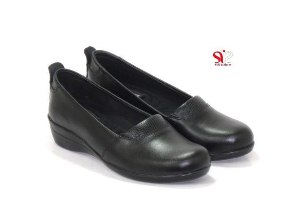 کفش زنانه آدریانا با لژ سه و نیم سانتی متری رنگ مشکی - کفش زنانه سی سی