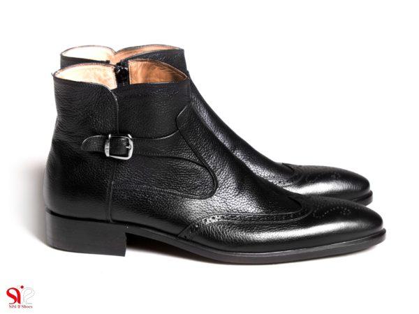 تصویر مدل نیم بوت مردانه - کفش مردانه سی سی