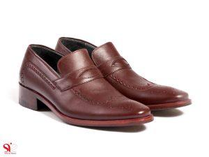 کفش مردانه مدل اشکی بی بند