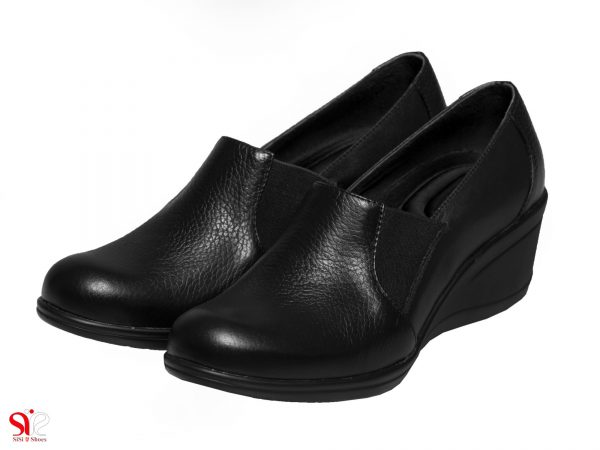 مدل کفش سبک طبی زنانه مدل الین رنگ مشکی