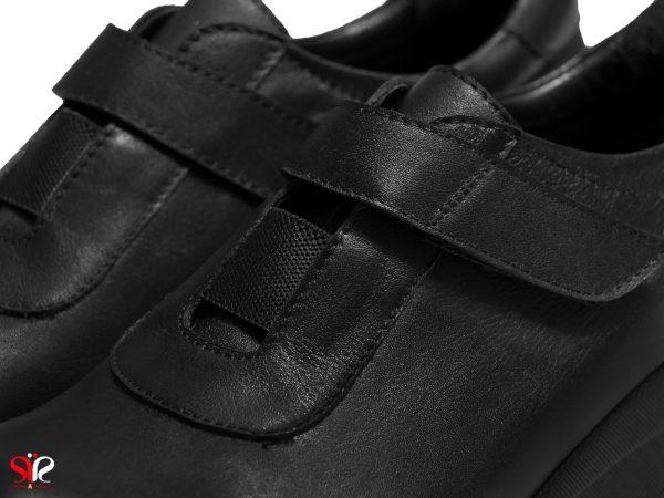 رویه چرمی کفش طبی زنانه مدل لنا سی سی