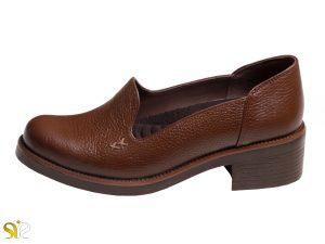 کفش زنانه مدل ویونا رنگ قهوه ای - کفش محیط اداری زنانه