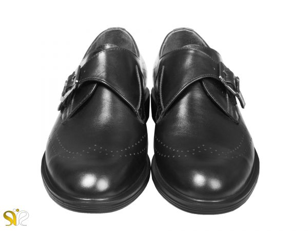 کفش مردانه چرم مدل دنی سگکدار