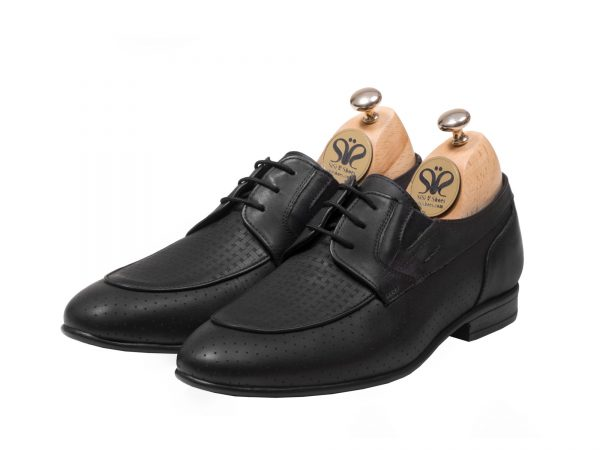 عکس مدل کفش مردانه رسمی آرمان رنگ مشکی - کفش تبریز