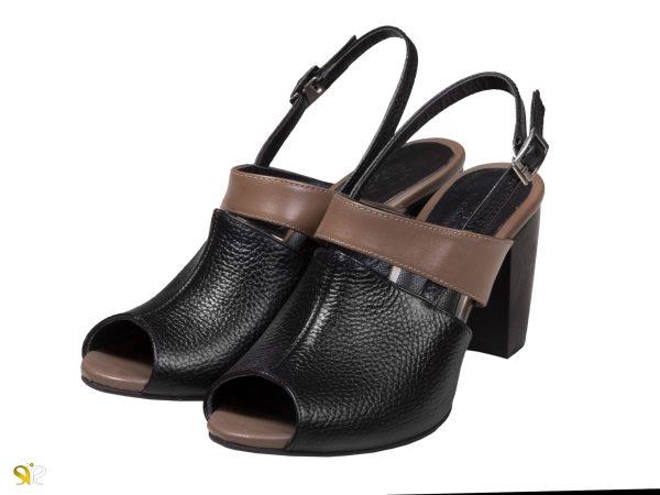 عکس کفش زنانه مدل پینتا پاشنه 7 سانتی - کفش سی سی