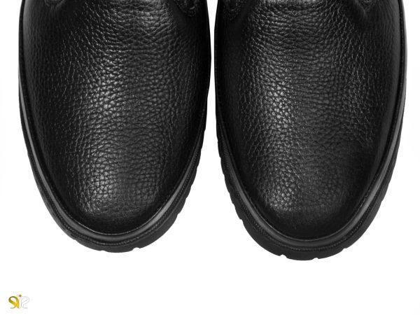 کفش مردانه مدل فایلون با چرم گاوی فلوتر - کفش تبریز