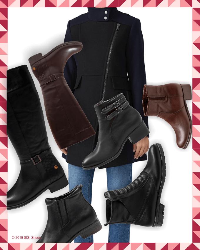 انتخاب کفش (بوت - Boot) با ست زنانه