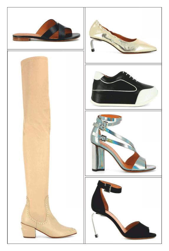 ست انواع کیف و کفش های زنانه (نیویورک، پاریس، میلان و لندن) در سال 2019