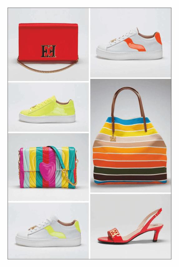 ست انواع کیف و کفش های زنانه (نیویورک، پاریس، میلان و لندن) 2019