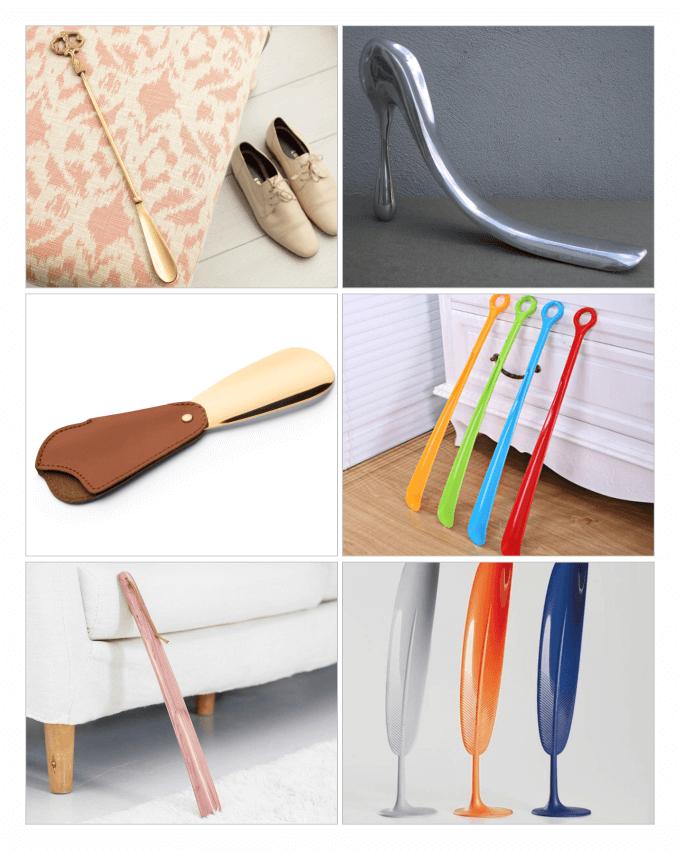 طرح های متنوع از انواع مختلف پاشنه کش ها (Shoehorn)