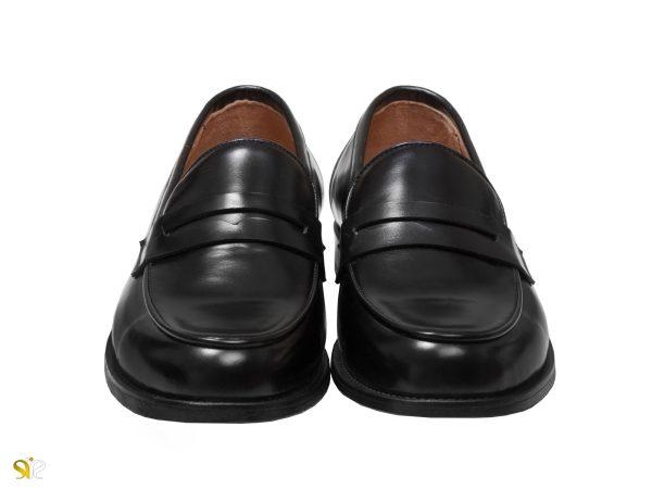 کفش سی سی مدل لوفر رنگ مشکی - کفش مردانه چرم