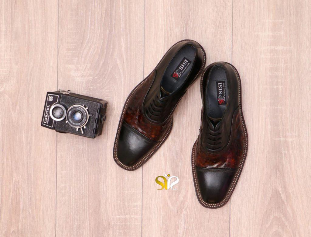 کفش مجلسی مردانه مدل شایان وی آی پی - کفش مردانه مجلسی