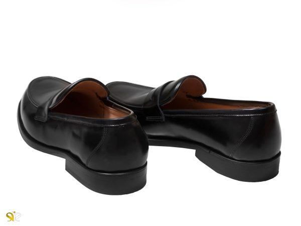 کفش مردانه سی سی مدل لوفر رنگ عسلی - کفش تبریز