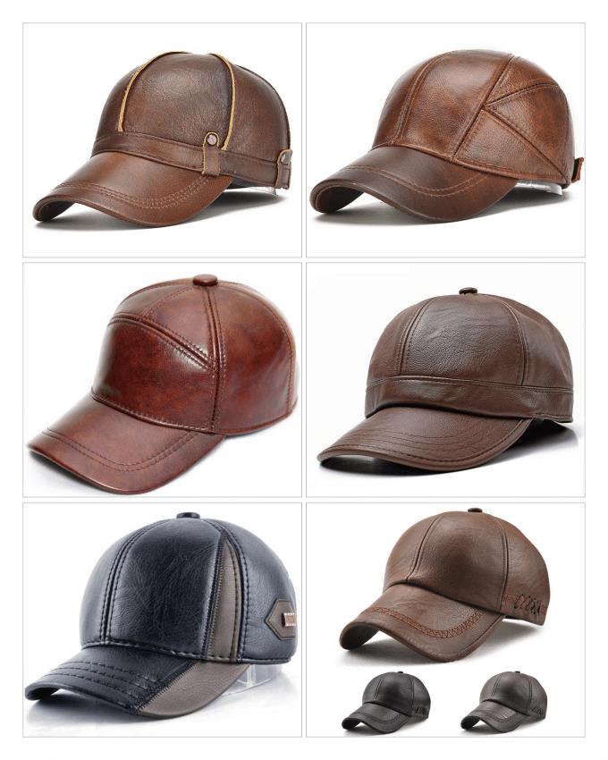 کلاه های تمام چرم (leather cap)، پوششی جانبی برای مد