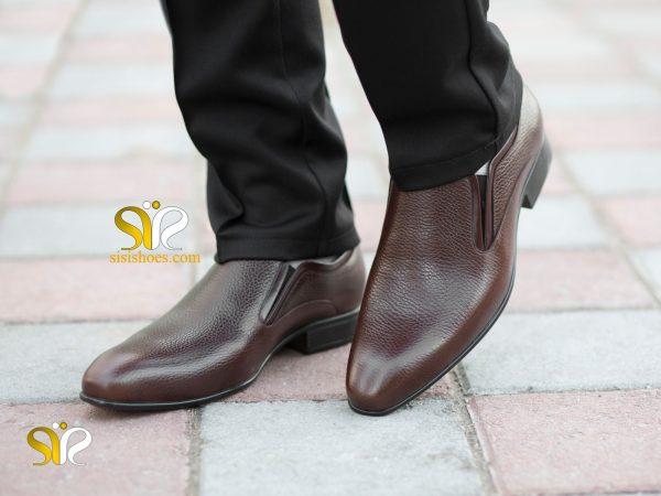 عکس مدل کفش مردانه ایتالیایی رزتی - رنگ قهوه ای