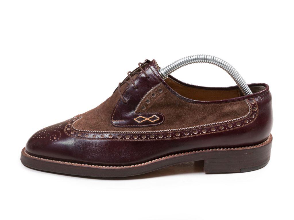 کفش مردانه مجلسی تمام چرم دست دوز