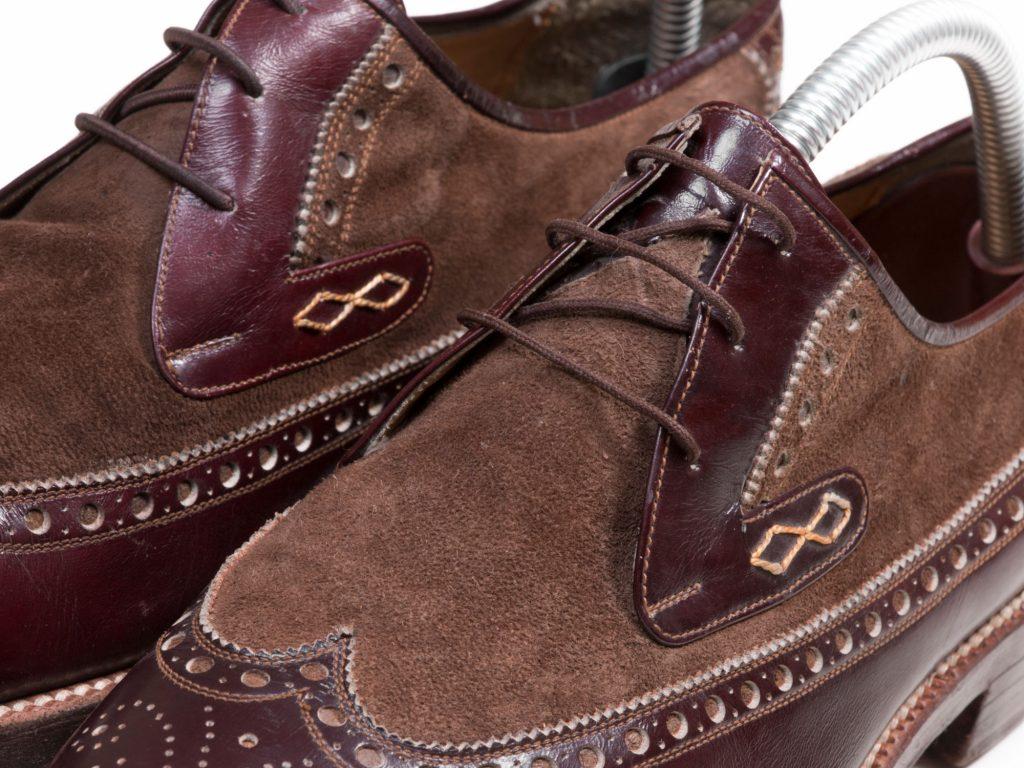 کفش چرم مردانه دوخت سنتی تبریز
