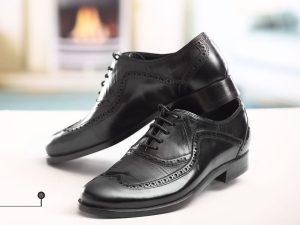 کفش چرمی مردانه طرح کلاسیک – کد ۱۰۸۵