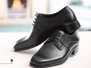 کفش چرمی مردانه ساده