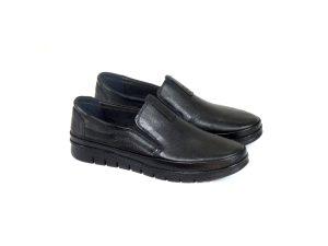 کفش چرمی مردانه با زیره طبی مدل فانتوف