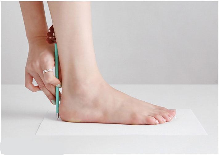 پیدا کردن سایز پا برای خرید اینترنتی کفش
