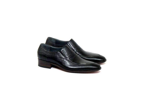 کفش چرمی دست دوز مردانه مدل آکات