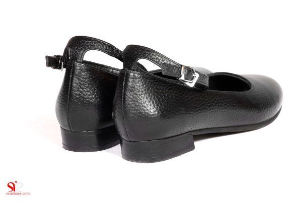 پاشنه تخت کفش زنانه رکسانا تولید صنایع چرم سی سی sisis shoe