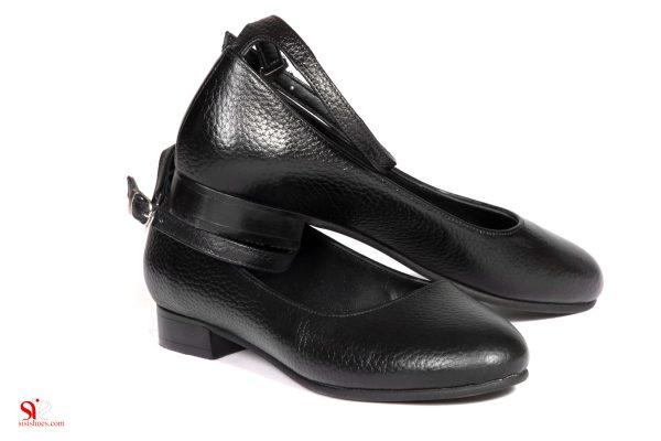 کفش تخت زنانه مدل رکسانا روی هم