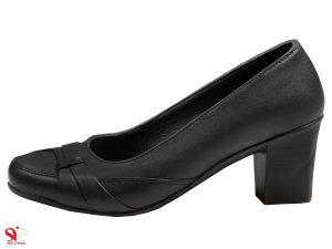 کفش زنانه اداری مدل آنیل مشکی