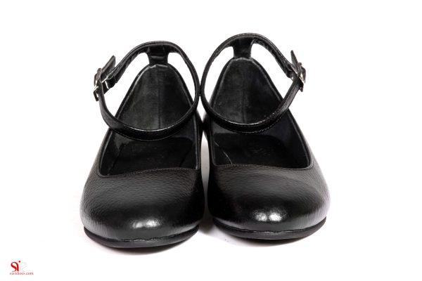 کفش تخت زنانه تولید کالای ایرانی چرم سی سی
