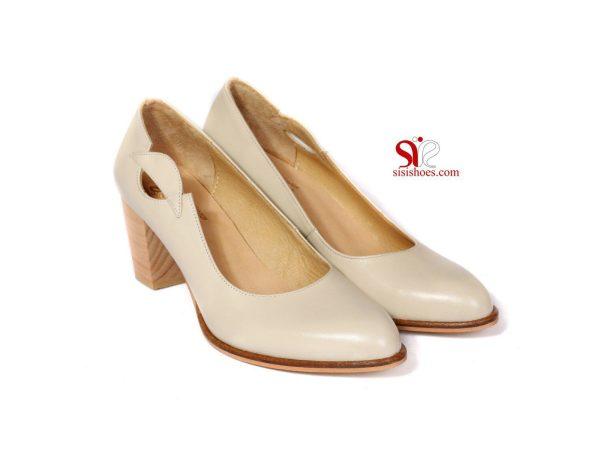 کفش زنانه مدل ساره رنگ کرمی