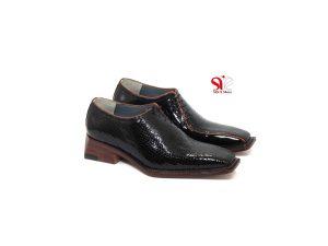 کفش مردانه چرمی مدل چپ بند