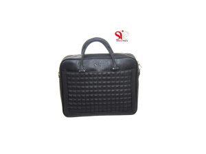 کیف چرمی مردانه مدل شانل