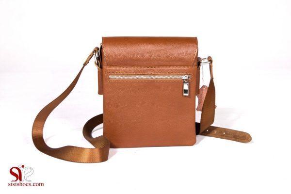 کیف دوشی زنانه چرمی