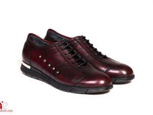 کفش اسپرت دخترانه زرشکی