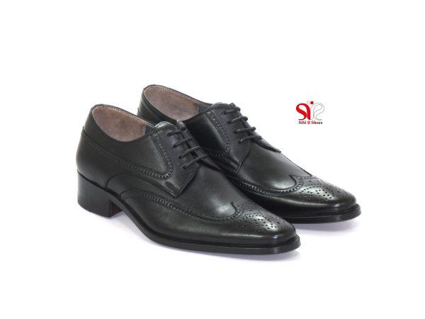 کفش مدل اشکی هشت ترگ چرمی مردانه کفش تبریز