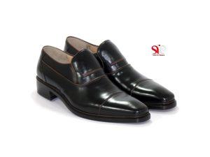 کفش چرم مدل اسپانیایی کد 14401025 - کفش سی سی