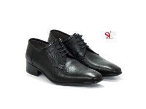 کفش مردانه مجلسی با طرح ساده مدل آسپینا - کفش دستدوز تبریز - Tabriz handmade men shoes
