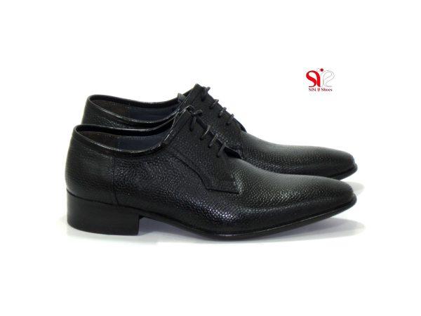 کفش مردانه مدل آسپینا - کفش مجلسی مردانه - کیف و کفش چرم سی سی - Sisi leather shoes