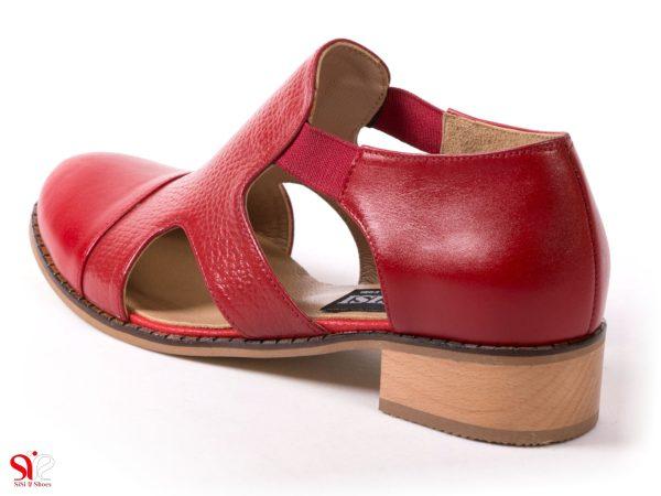 پاشنه چوبی 3 سانتی کفش تابستانی دخترانه مدل سایا