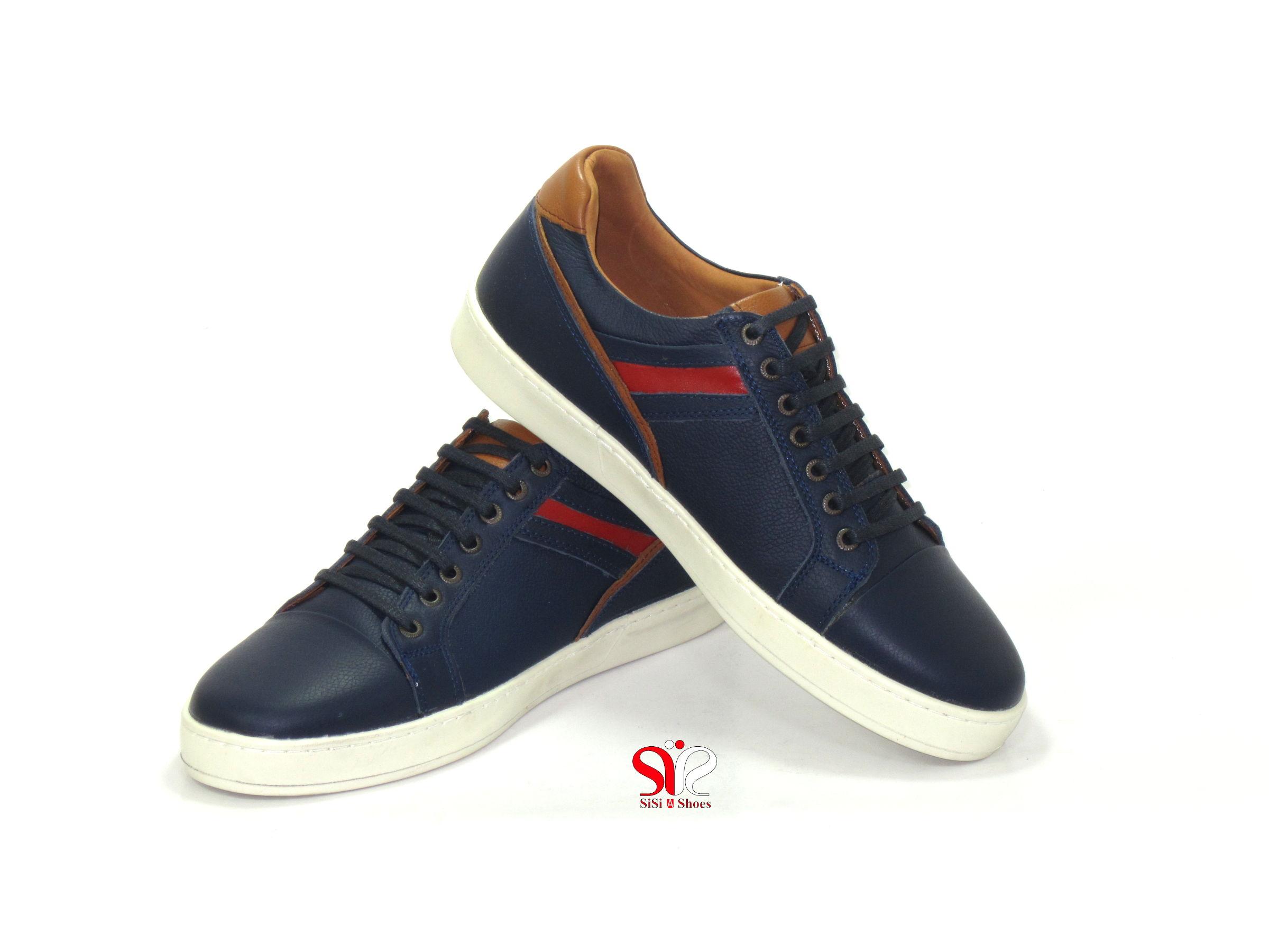 کفش اسپرت مدل کریس با زیره سفید رنگ - اسپرت مردانه و پسرانه کفش تبریز