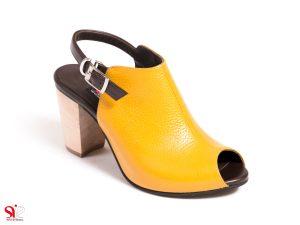 کفش دخترانه با پاشنه 6.5 سانتی متری مدل ملورین