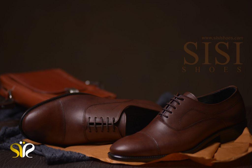 کفش رسمی مردانه چرم مدل فورد تبریز