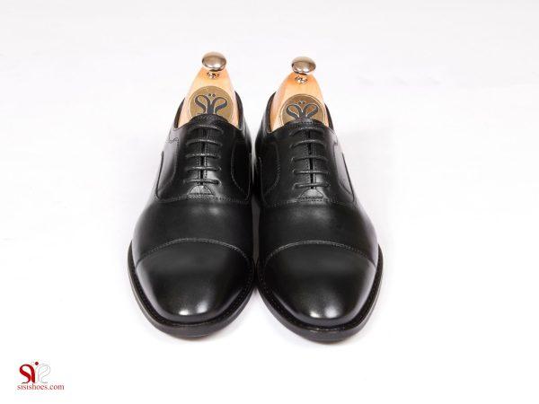 رویه چرم و طرح کلاسیک کفش مردانه مدل فورد سی سی