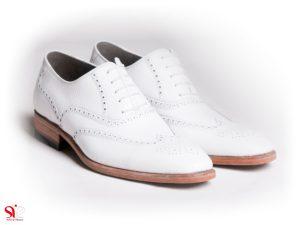کفش مردانه مدل وایت - مدل کفش مجلسی مردانه سفید